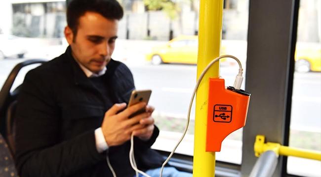 Yolda Şarjım Bitti Derdine Son! Ankara'da EGO Otobüslerinde Şarjı Dönemi...