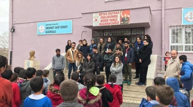 AHBAP Ankara'da! Polatlı'da Öğretmenleri Ziyaret Ettiler...
