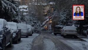 Ankara'da Belediyeler Karla Mücadele Konusunda Sınıfta Kaldı... Vatandaş: