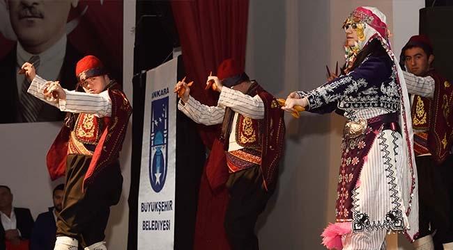 Ankara'da Engelliler Gününe Özel Etkinlik... Başkent'i Coşturdular...