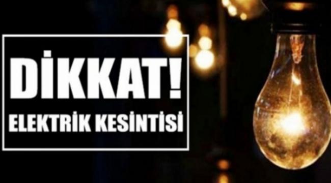 Ankara'da Pazartesi Günü 14 İlçede Elektrik Kesintisi... İşte Saat Saat Kesinti Bölgeleri...
