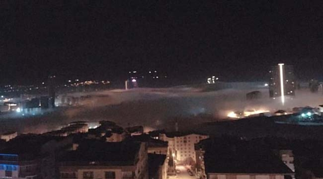 Ankara Sis Bulutlarının Altında Kaldı