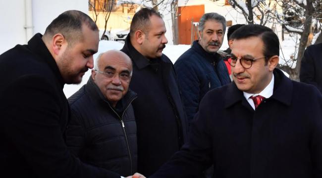 Büyükşehir'in Yeni Genel Sekreteri Saha Ziyaretlerinde!