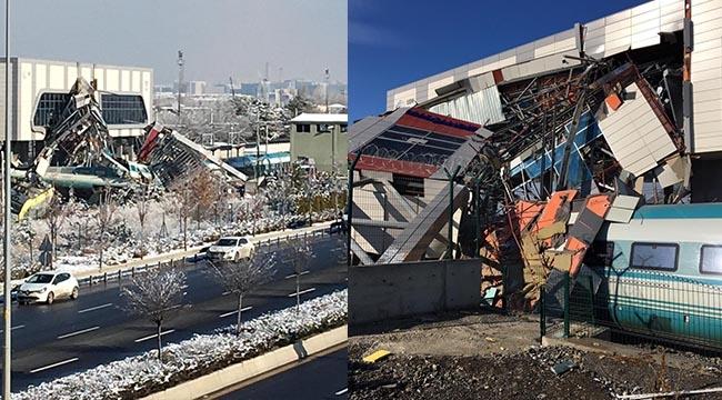 FLAŞ! Yenimahalle'deki Yüksek Hızlı Tren Kazası... 3 Kişi Gözaltına Alındı... Yaralı Sayısı 86...