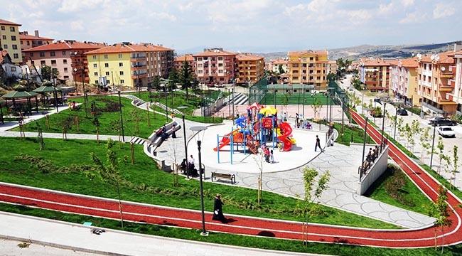 Mamak'ta 10 Yılda 169 Park Yapıldı