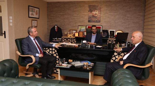 Mansur Yavaş ve Fethi Yaşar'dan Haber Ankara'ya Ziyaret... İşte Görüşmenin Detayları...