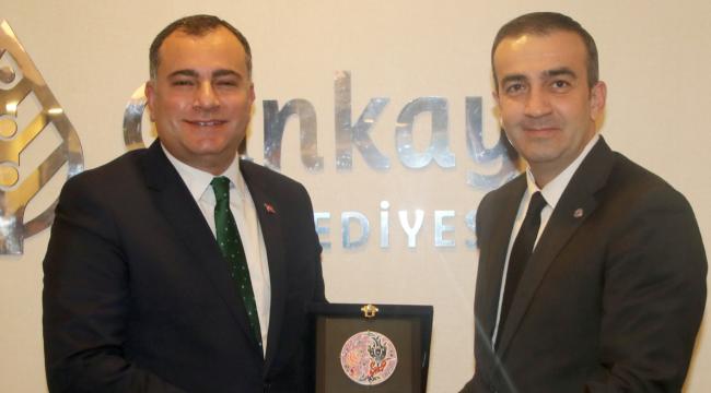 TÜGİAD Ankara'dan Alper Taşdelen'e Ziyaret