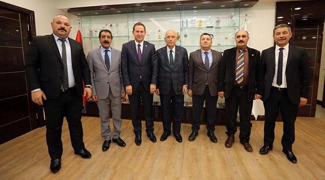 Yenimahalle'de Oda Başkanları Buluşması... Fethi Yaşar'a Destek...