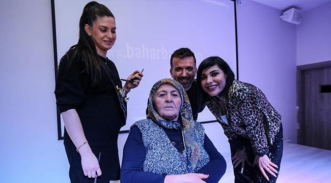 Yenimahalleli Ayşe Teyze 41 Yıl Sonra İlk Kez Makyaj Yaptı