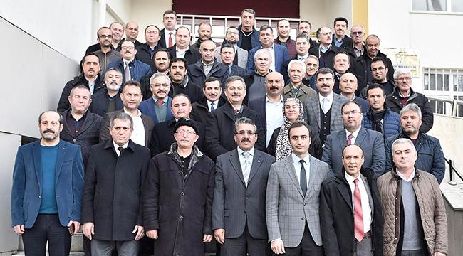 AK Parti Mamak Adayı Murat Köse Eğitimcilerle Buluştu