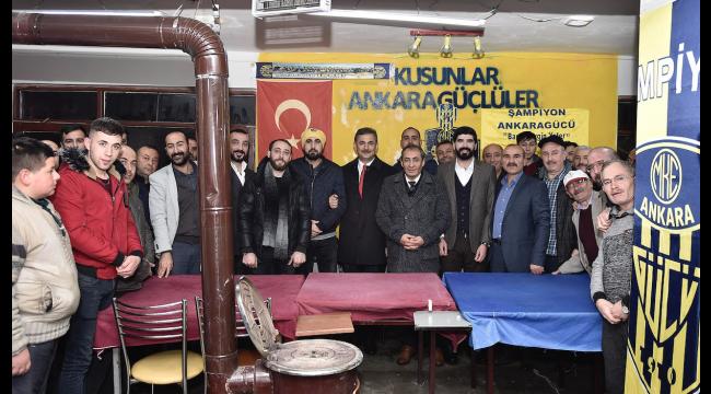 AK Parti Mamak Adayı Murat Köse Gençlerle Buluştu: