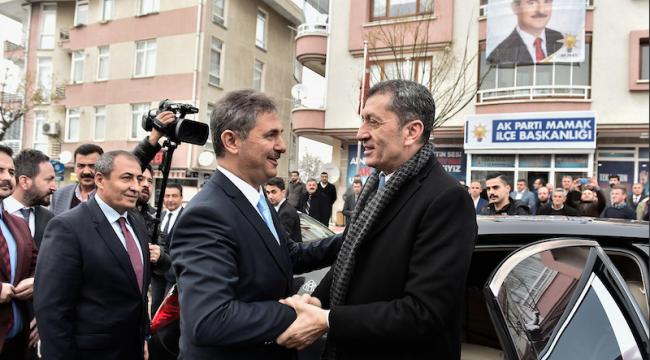 Bakan Selçuk'tan Murat Köse'ye Hayırlı Olsun Ziyareti