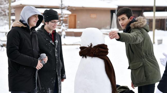 En Güzel Kardan Adamlar Altınköy'de Yapıldı