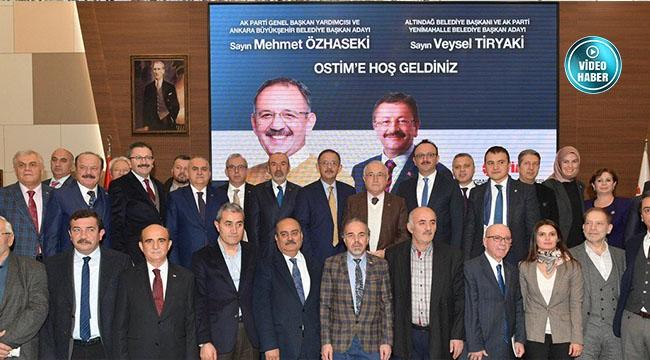 ERYAMAN STADI'NDA GELİŞME! Mehmet Özhaseki ve Veysel Tiryaki OSTİM'de Sanayicilerle Buluştu, Ankara'yı Konuştu