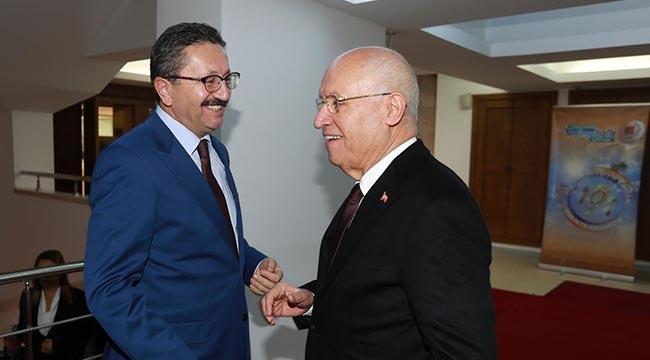 Fethi Yaşar Veysel Tiryaki'yi Ağırladı