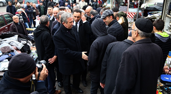 Mansur Yavaş Ankara Halkıyla Buluşmaya Devam Ediyor...