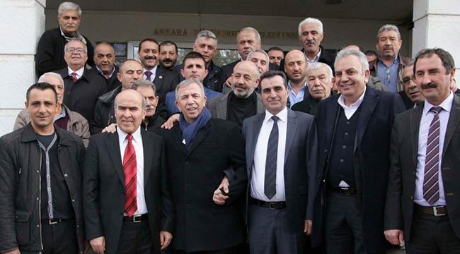 Mansur Yavaş Ankara'nın Dört Bir Yanını Gezmeye Devam Ediyor: