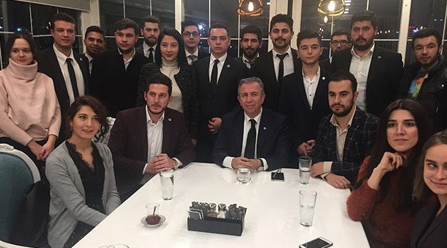 Mansur Yavaş'tan Ankaralı Gençlere: