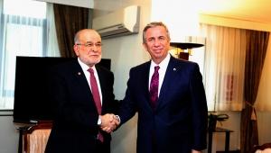Mansur Yavaş'tan Temel Karamollaoğlu'na Ziyaret