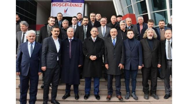 Mehmet Özhaseki Sanayicilerle Buluştu