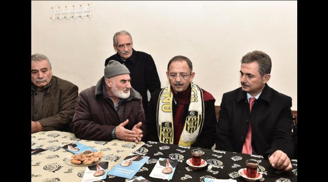 Mehmet Özhaseki ve Murat Köse'den Mamak Turu