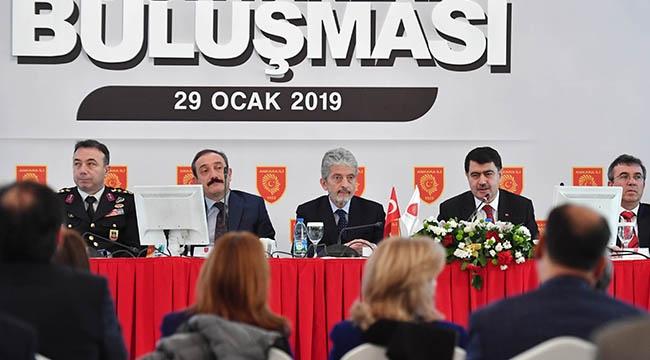Vasip Şahin ve Mustafa Tuna Ankara'nın Muhtarlarıyla Buluşuyor