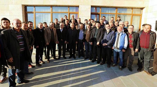 Yenimahalleli Mermercilerden Fethi Yaşar'a Destek: