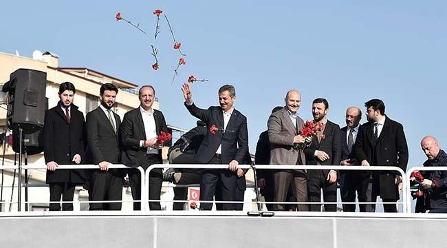 Bakan Süleyman Soylu Mamak'ı Gezdi