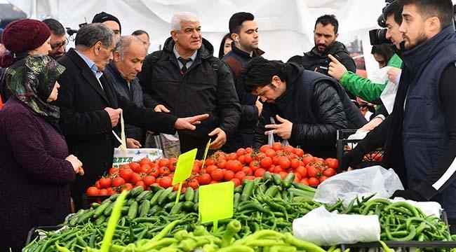 Bir Haftada 704 Ton Satış! Ankara'da Tanzim Satışa Yoğun İlgi...