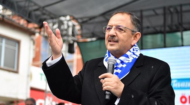 Mehmet Özhaseki Ankara'da Döner Dağıtacak