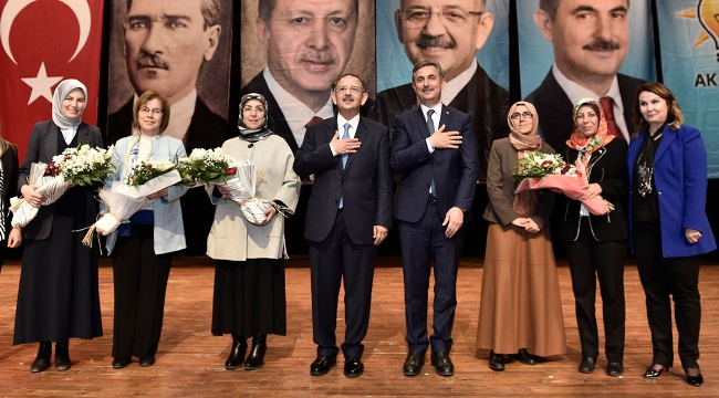 Mehmet Özhaseki ve Murat Köse Mamaklı Kadınlarla Buluştu
