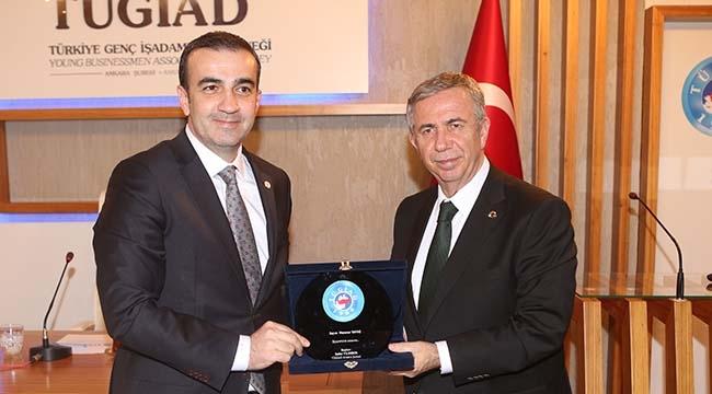 TÜGİAD Ankara'nın Konuğu Mansur Yavaş Oldu
