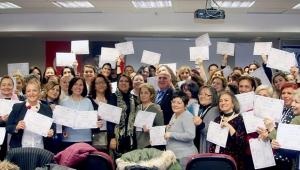 Ankara'nın Girişimci Kadınları Sertifikalarını Aldı
