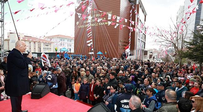Ankara'nın İlk Engelli Kreşi 'Nefes'