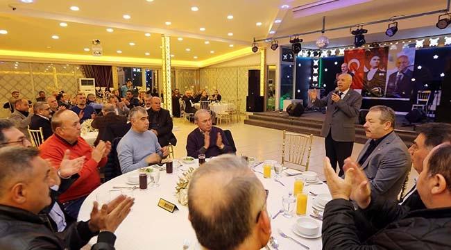 """Fethi Yaşar, İş İnsanlarıyla Buluştu:""""60 Yılda Yapılamayanı 10 Yıla Sığdırdık"""""""