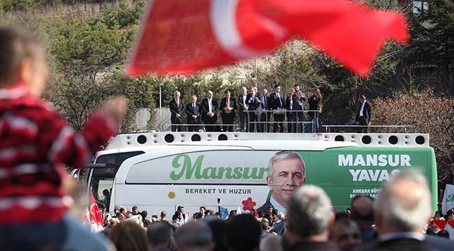Mansur Yavaş Eryaman'da Özhaseki'ye Seslendi: