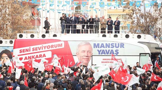 Mansur Yavaş Pursaklar'da: