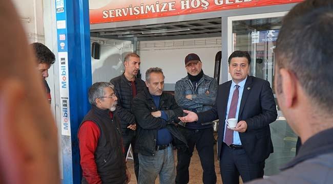 Millet İttifakı'nın Etimesgut Belediye Başkan Adayı Celal Çelik: