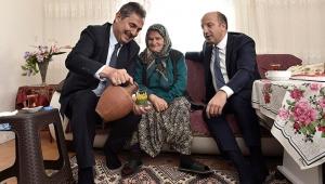 Murat Köse Mamaklı Şehit Ailesini Ziyaret Etti