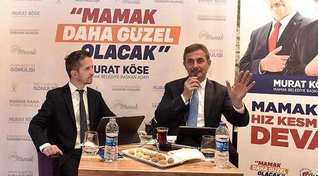 Murat Köse Sosyal Medya Yayınında Mamaklı Gençlerle Buluştu
