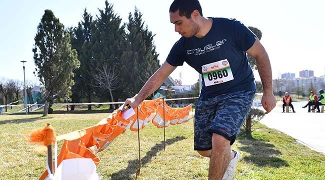 Oryantiring Sporu Sevenler Ankara'da Buluştu