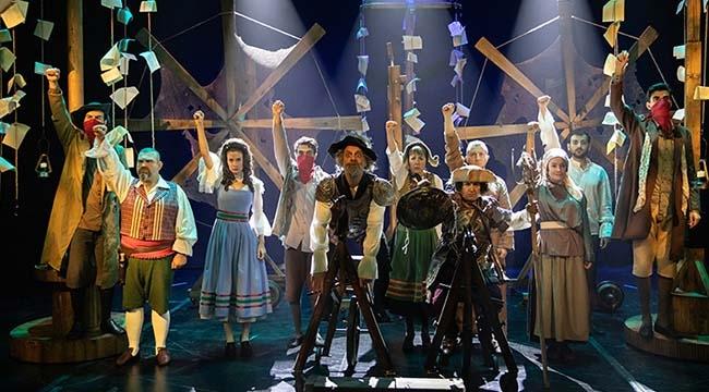 Yel Değirmenlerine Karşı Savaşacak! Sevilen Sanatçılarla 'Don Kişot'um Ben' Ankara'da...