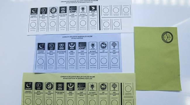 Yerel Seçimde Kaç Tane Oy Pusulası Olacak? İşte Pazar Günü Kullanılacak Oy Pusulaları...