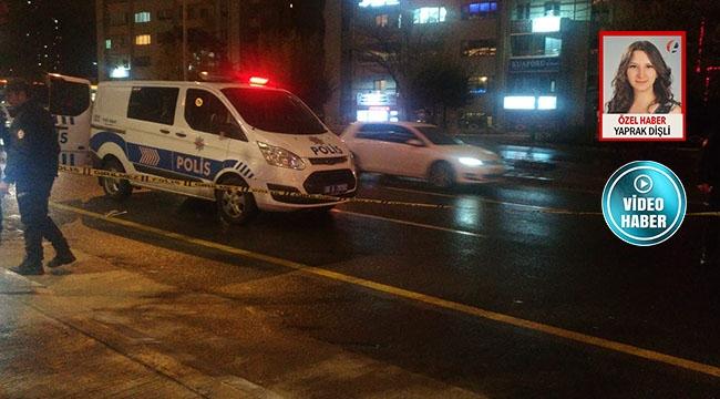 Ankara'da Silahlar Konuştu! Koşarak Kafeye Sığındı... 1 Yaralı...