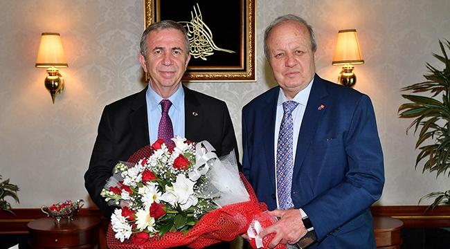 Ankara İş Dünyasından Mansur Yavaş'a Ziyaret