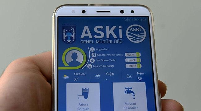ASKİ'den Ankaralılara Teknolojik Kolaylık