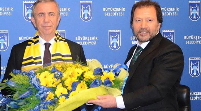 Mehmet Yiğiner'den Mansur Yavaş'a Ziyaret... Neler Konuşuldu, Ankaragücü Gündeme Geldi Mi? İşte Ayrıntılar
