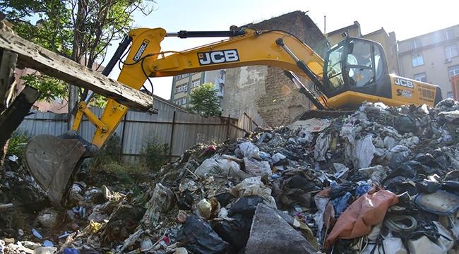 Ankara'nın 'O' Tarihi Bölgesinden 350 Ton Atık Toplandı