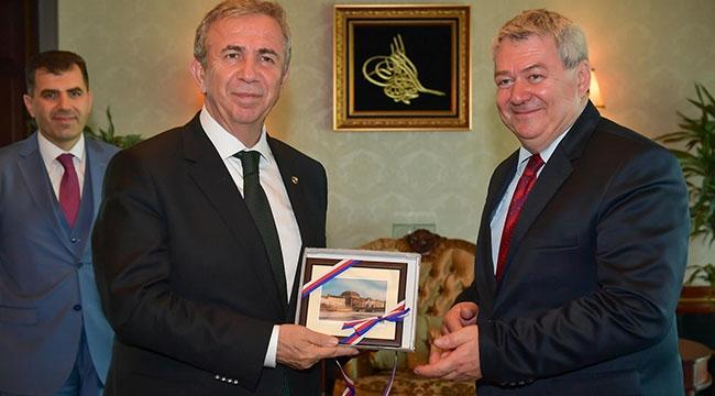 Ankara'nın Sorunları Konuşuldu! Çek Cumhuriyeti'nden Mansur Yavaş'a Ziyaret...