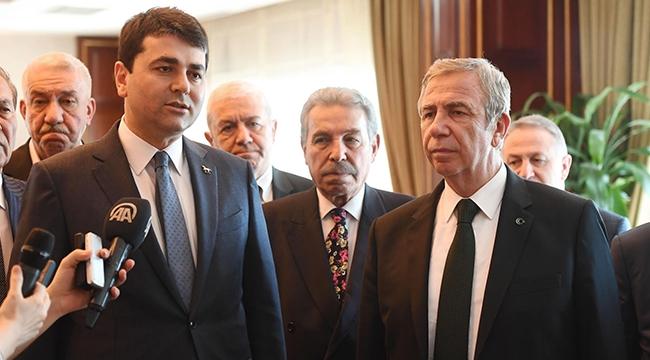 Demokrat Parti'den Mansur Yavaş'a Hayırlı Olsun Ziyareti